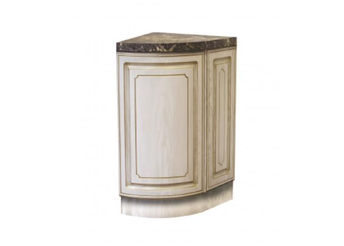 Стол угловой с радиусным фасадом Анжелика СТР 320У