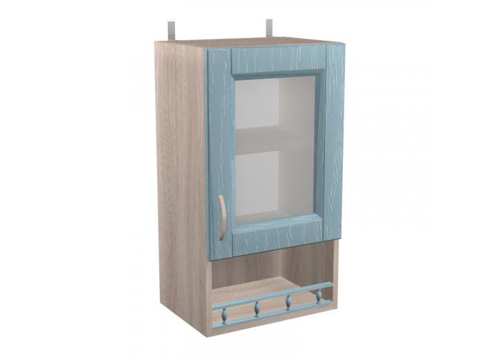 Шкаф с витриной Кантри ШКН 450ПВ
