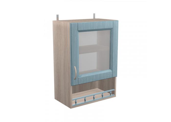 Шкаф с витриной Кантри ШКН 500ПВ