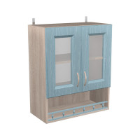 Шкаф с витриной Кантри ШКН 600ПВ