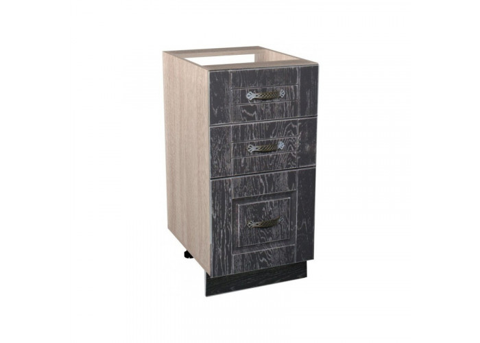 Стол 3 ящика Лофт СТР 400/3
