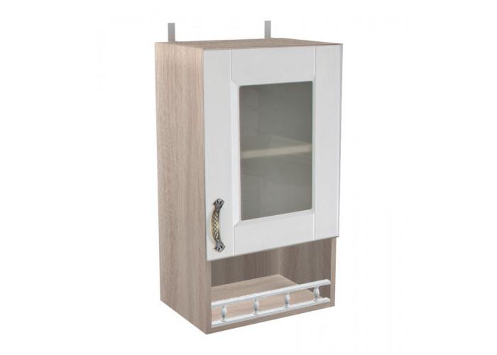 Шкаф с витриной Лофт ШКН 400ПВ