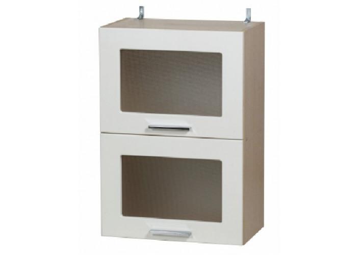 Шкаф навесной-витрина Модерн ШКН 500/2В