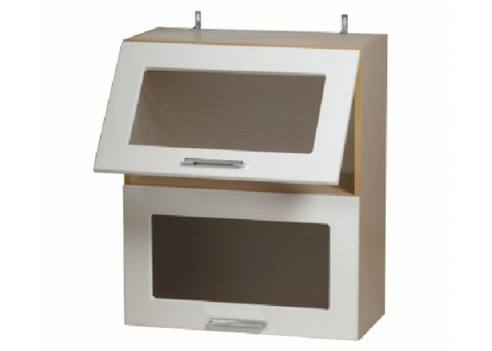 Шкаф навесной-витрина Модерн ШКН 600/2В