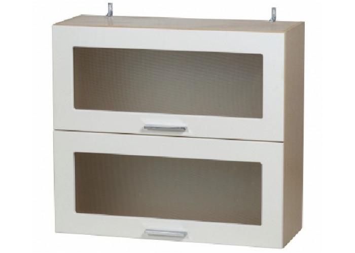 Шкаф навесной-витрина Модерн ШКН 800/2В