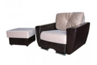 кресло-кровать (раскладное кресло+пуф)