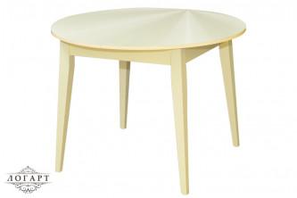 """Кухонный стол со стеклянной столешницей БАЛЕТ СТ №2  """"наклон"""""""