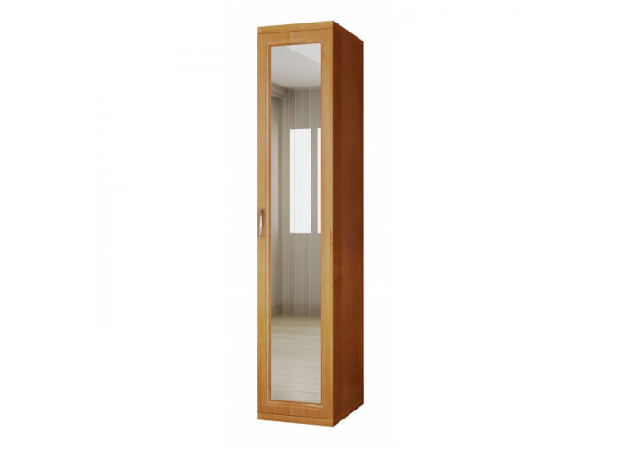 Модуль 2М/зер Шкаф для одежды и белья с зеркалом Модена