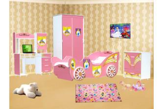 """Детская спальня """"Принцесса"""""""