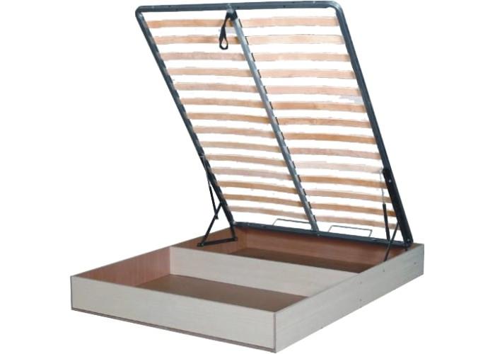 Бельевой ящик с кроватным основанием и подъемным механизмом 1400x2000