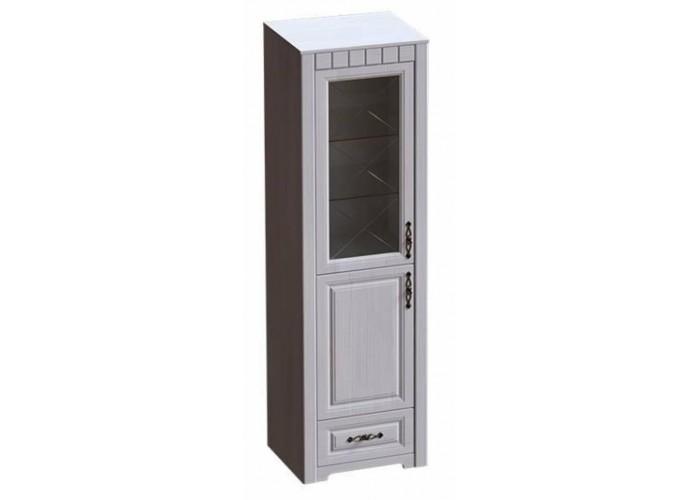 Прованс Шкаф-витрина правый