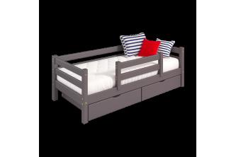 Кровать Соня 4 с защитой по центру
