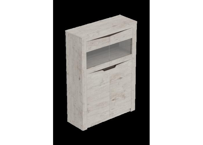 Шкаф двухдверный Сорнето Дуб бонифаций