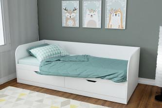 Подростковая кровать Денди белый