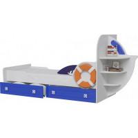 Кровать одноярусная Парус Яхта-1 (без матраса)