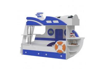 Кровать двухъярусная Парус Яхта-2 (без матраса)