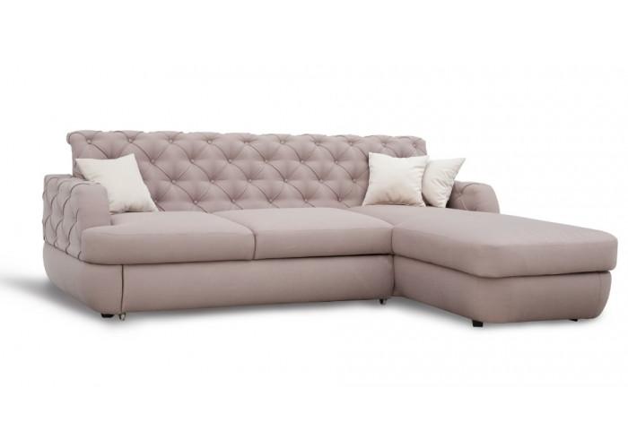 Диван-кровать c оттоманкой (ППУ) №84 «Валенсия»