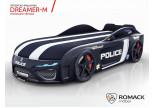 Кровать-машина Romack Dreamer-M Полиция черная