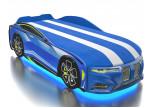 Кровать-машинка Romack Boxter-M голубая