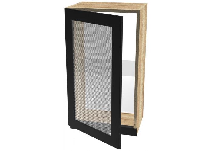 Шкаф навесной со стеклом ШСТ-40 Сити