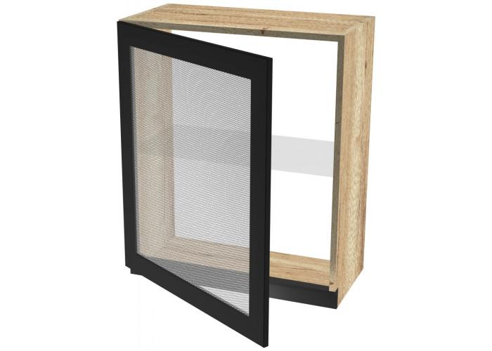 Шкаф навесной со стеклом ШСТ-60 Сити