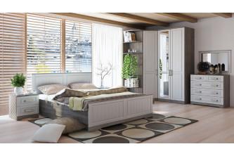 Модульный спальный гарнитур «Прованс» (дуб сонома трюфель)