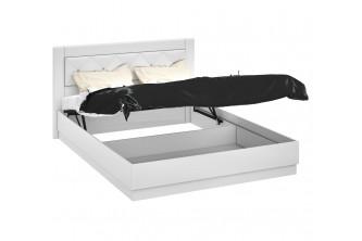 Двуспальная подъемная кровать с мягкой вставкой Амели