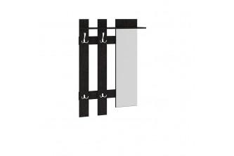 Вешалка с крючками и зеркалом Арт (мини)