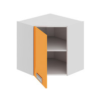 Шкаф верхний угловой с углом 45 Бьюти ВУ45_60-(40)_1ДР(А) левый