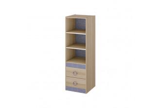 Шкаф-стеллаж с полками для книг Индиго ПМ-145.08