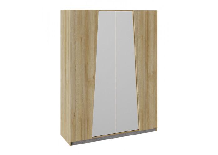Шкаф комбинированный Клео дуб ривьера/моод темный