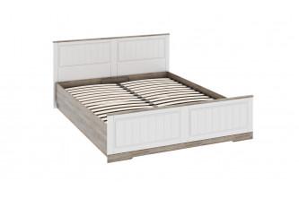 Двуспальная кровать с изножьем и подъемным механизмом Прованс СМ-223.01.004