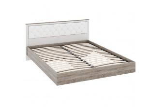 Двуспальная кровать с мягкой спинкой Прованс СМ-223.01.005