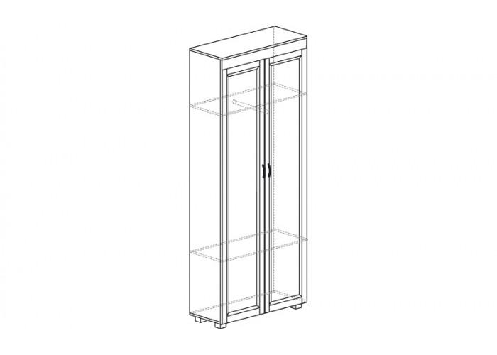 ЙО-05.1-ШК Шкаф для одежды 2-дверный Йорк