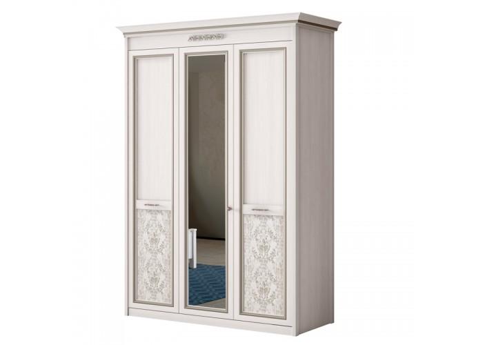 """Шкаф 3-дверный со стеклом """"Адель"""" №453"""