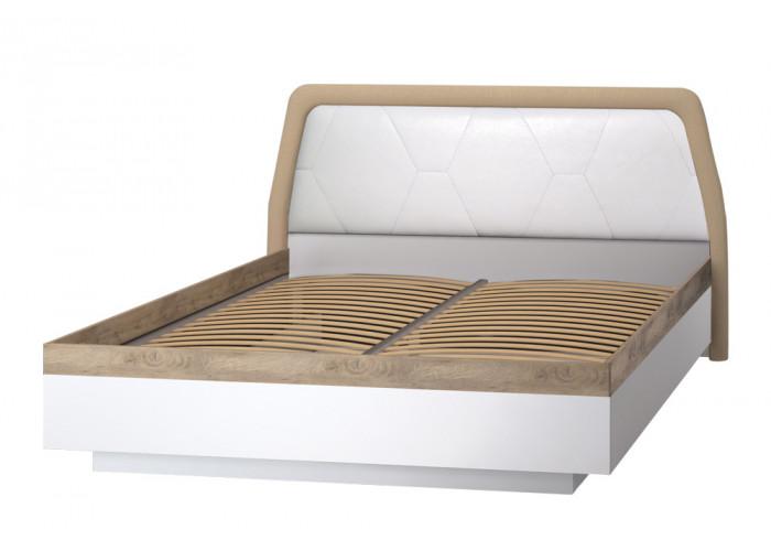 Модуль №75 Кровать двуспальная *1600 Дели Белый супермат