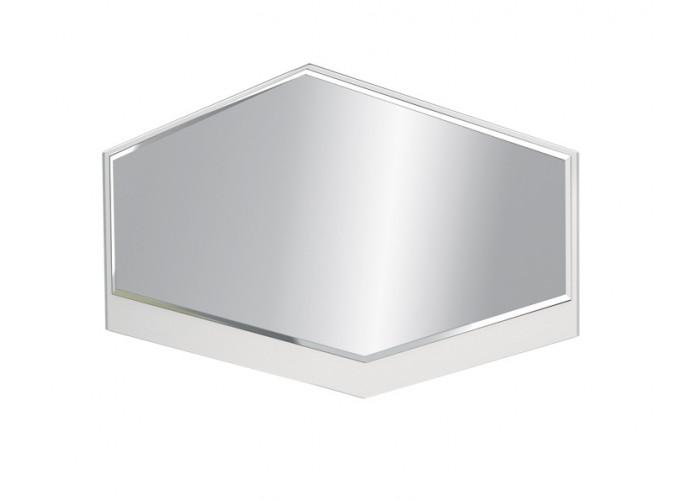 Модуль №76 Зеркало Дели Белый супермат