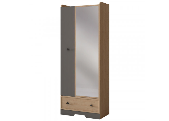 """Шкаф 2-дверный с зеркалом """"Джексон"""" №871"""