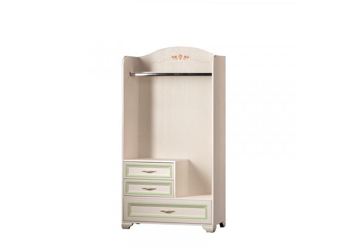 Модуль №905 Шкаф открытый для одежды Флора
