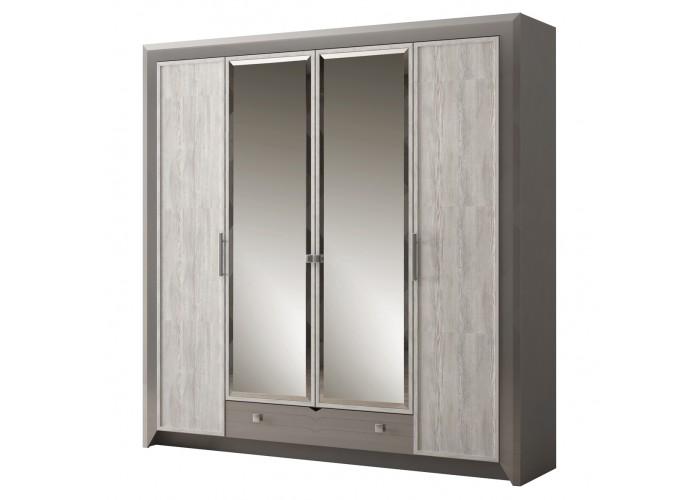 Модуль №158 Шкаф 4-дверный Фьорд