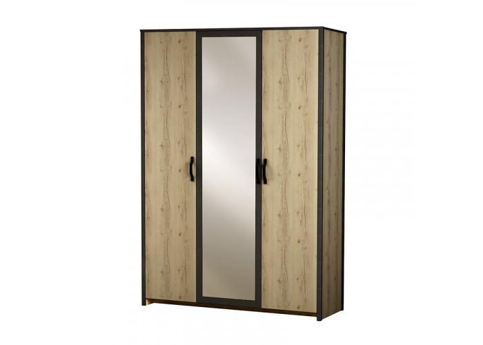 Модуль №885 Шкаф 3-дверный Гранж