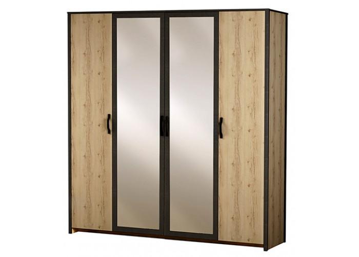 Модуль №886 Шкаф 4-дверный Гранж