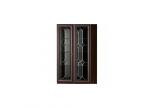 Шкаф для книг Инна №611 Денвер темный (полки ДСП)