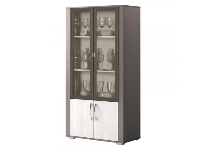 "Шкаф 2-дверный для посуды ""Латте"" №104"