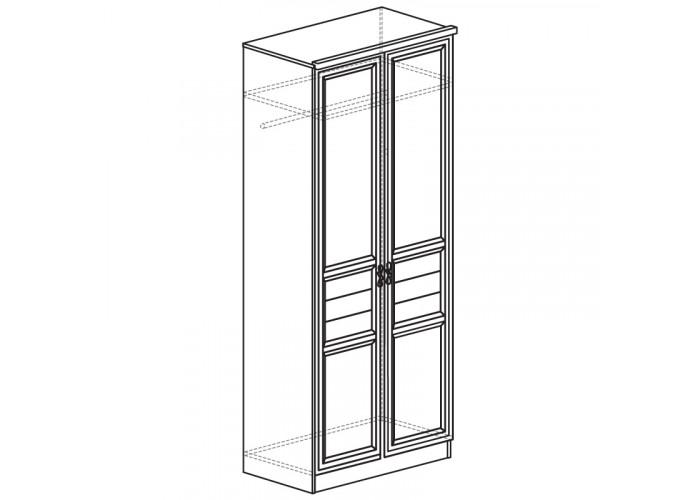 Шкаф для одежды 2-дверный Лира №40