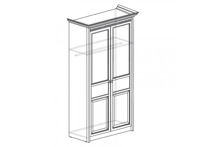 Модуль №181 Шкаф для одежды 2-дверный Лючия