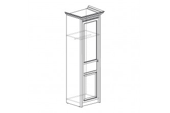 Модуль №182 Шкаф 1-дверный Лючия