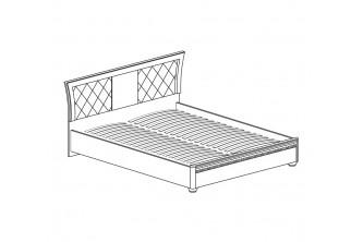 Модуль №199 Кровать *1600 с мягким изголовьем и подъемным основанием Лючия