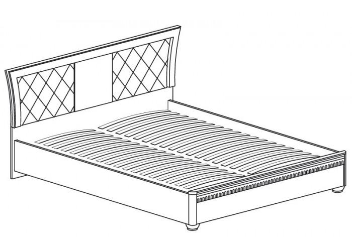 Модуль №200 Кровать двойная 1800 Лючия