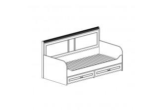 Модуль №250 Кровать одинарная *900 Белла